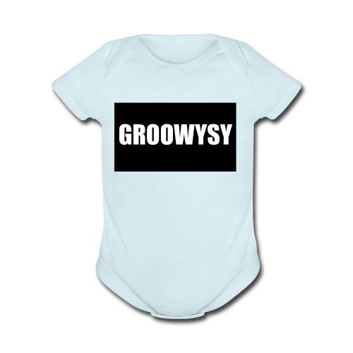 . - Organic Short Sleeve Baby Bodysuit