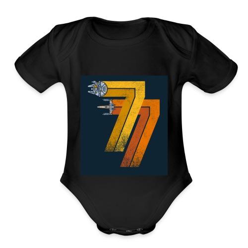 FashionNista - Organic Short Sleeve Baby Bodysuit
