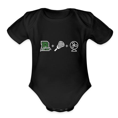 Ridge Lax Fan Reverse - Organic Short Sleeve Baby Bodysuit