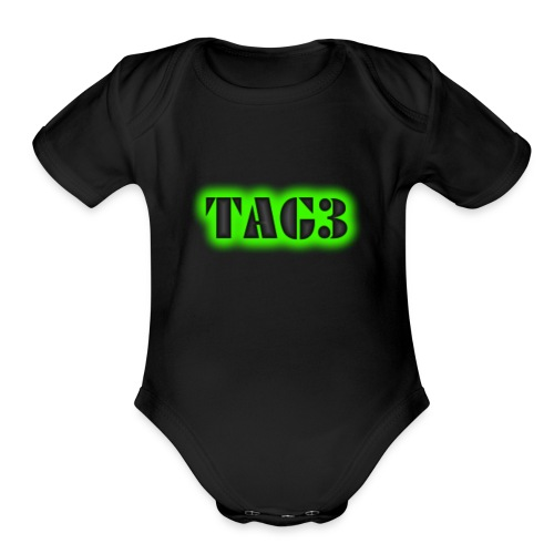 TRIPLE A GAMERS - Organic Short Sleeve Baby Bodysuit
