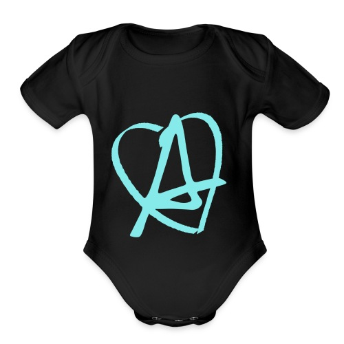 Love & Anarchy - Organic Short Sleeve Baby Bodysuit