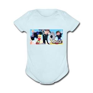 Smile Inc Hoodie - Short Sleeve Baby Bodysuit