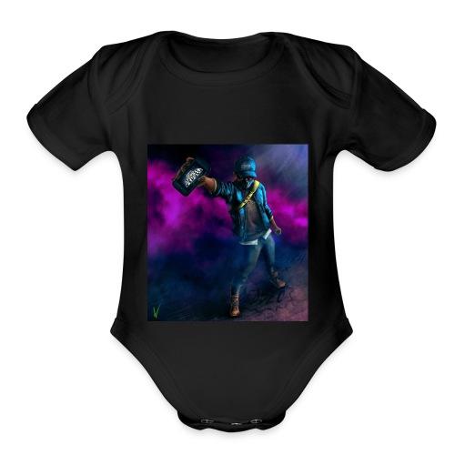 CORNERY - Organic Short Sleeve Baby Bodysuit