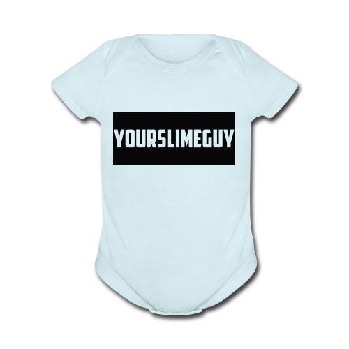 YourSlimeGuy Hoodie - Organic Short Sleeve Baby Bodysuit