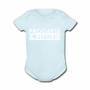 Progress and Reform - Short Sleeve Baby Bodysuit