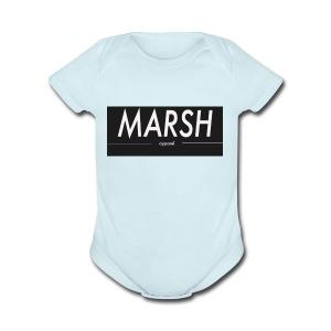 marsh apparel - Short Sleeve Baby Bodysuit