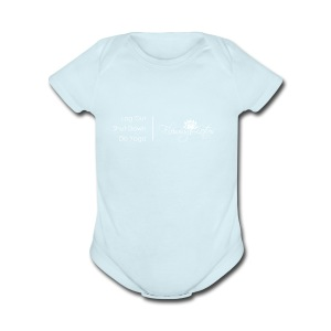 Yoga as a Priority - Short Sleeve Baby Bodysuit
