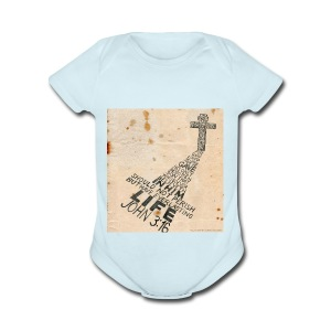 john3:16 - Short Sleeve Baby Bodysuit