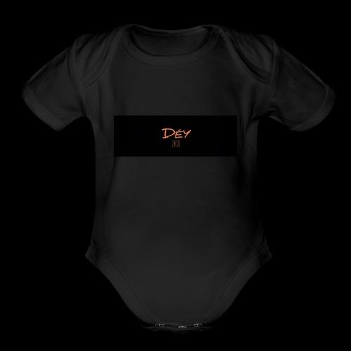 2018 - Organic Short Sleeve Baby Bodysuit