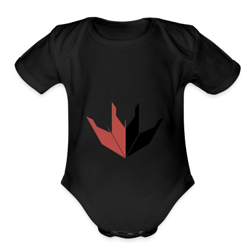 Lotus Blade Shirt - Organic Short Sleeve Baby Bodysuit