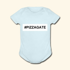 #PIZZAGATE CLASSIC BOX - Short Sleeve Baby Bodysuit
