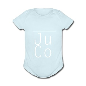 Juco Square - Short Sleeve Baby Bodysuit