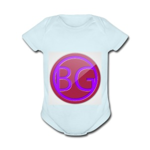 Brother Gaming 2016 logo apparel - Short Sleeve Baby Bodysuit
