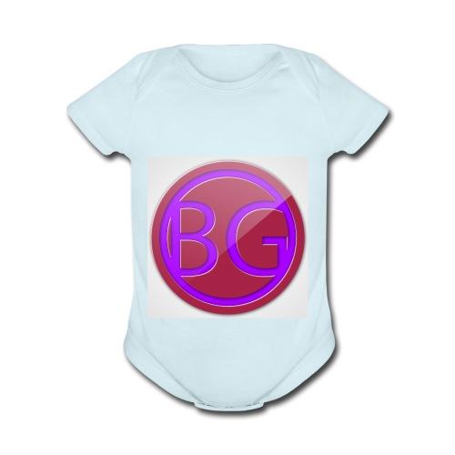 Brother Gaming 2016 logo apparel - Organic Short Sleeve Baby Bodysuit