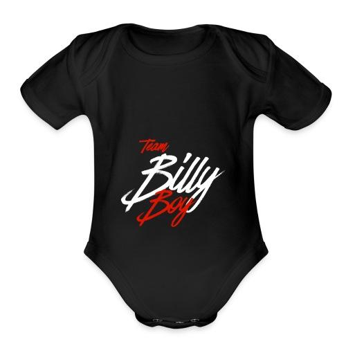 Team - Organic Short Sleeve Baby Bodysuit