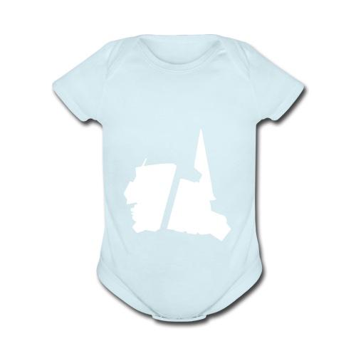 GBA_icon_white - Organic Short Sleeve Baby Bodysuit