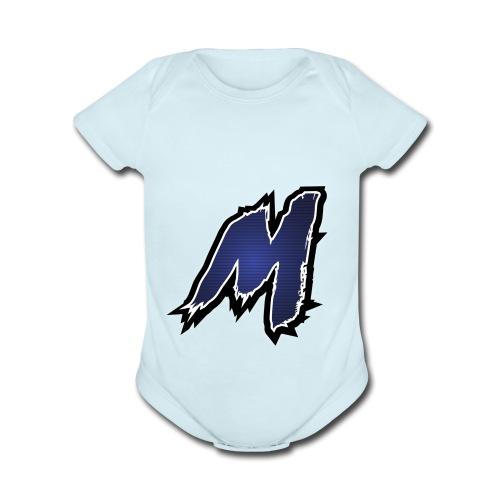 The M Product - Organic Short Sleeve Baby Bodysuit