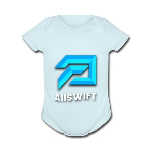 Aiiswift - Short Sleeve Baby Bodysuit