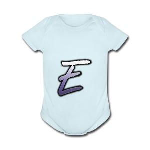 Effectro Mannie Logo - Short Sleeve Baby Bodysuit