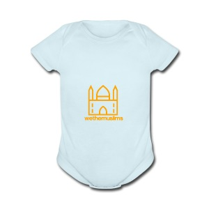 WeTheMuslims Official Merchandise - Short Sleeve Baby Bodysuit