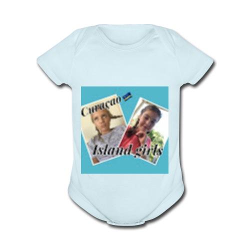 IslandGirls - Organic Short Sleeve Baby Bodysuit