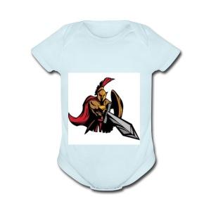 Gladiator - Short Sleeve Baby Bodysuit