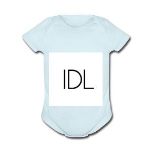 IDL Simple Logo - Short Sleeve Baby Bodysuit