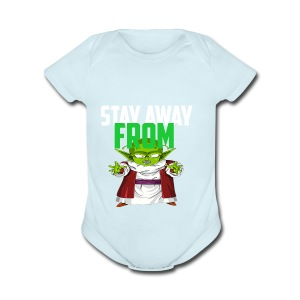 Stay Away From My D! - Short Sleeve Baby Bodysuit