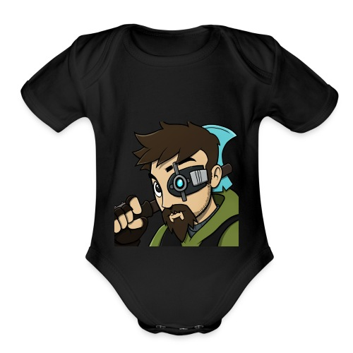 Iskall85 Avatar - Organic Short Sleeve Baby Bodysuit
