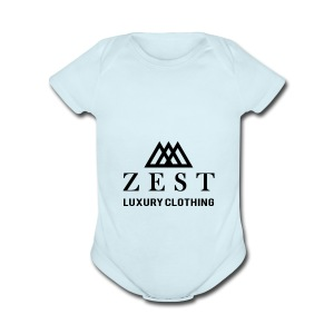 Zest - Short Sleeve Baby Bodysuit
