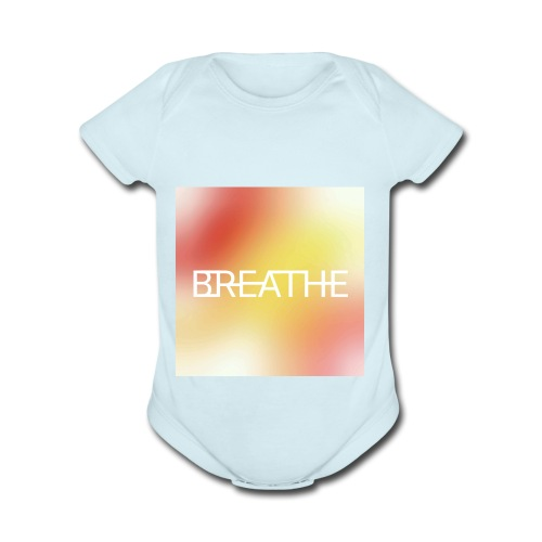 BREATHE - Organic Short Sleeve Baby Bodysuit