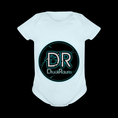 DruckRaum Logo - Organic Short Sleeve Baby Bodysuit