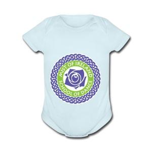 MOIFinal - Short Sleeve Baby Bodysuit