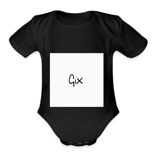 Gix Fam - Organic Short Sleeve Baby Bodysuit
