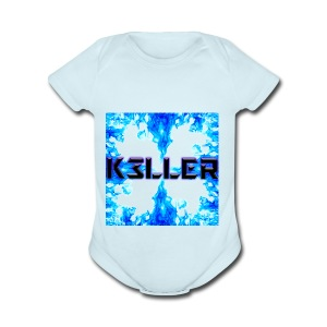 My Main Logo - Short Sleeve Baby Bodysuit