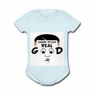 Ronboitv - Short Sleeve Baby Bodysuit