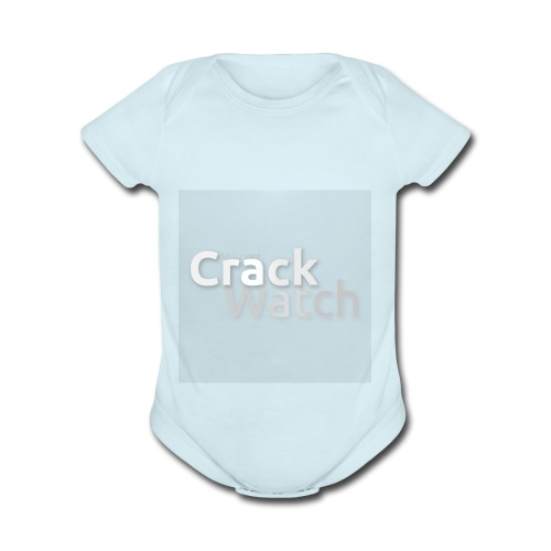 CrackWatch Discord Logo - Organic Short Sleeve Baby Bodysuit