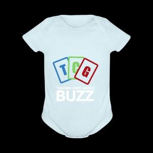 TCG Buzz Logo - Short Sleeve Baby Bodysuit