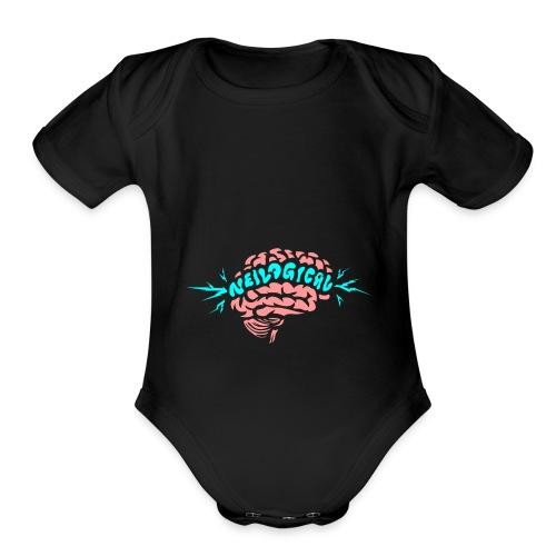 Think Neilogically - Organic Short Sleeve Baby Bodysuit