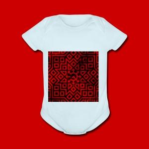 Detailed Chaos Communism Button - Short Sleeve Baby Bodysuit