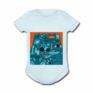 Rant Street Swag - Short Sleeve Baby Bodysuit