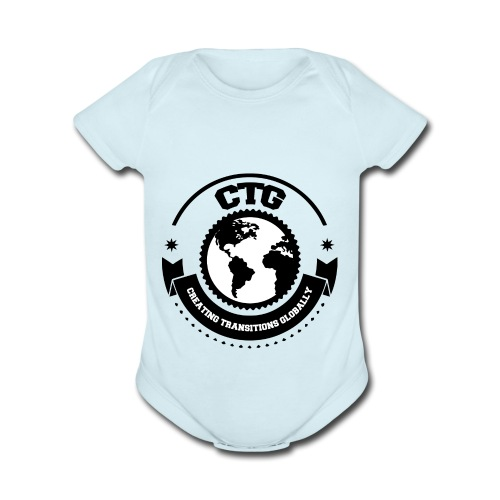 CTG OFFICIAL - Organic Short Sleeve Baby Bodysuit