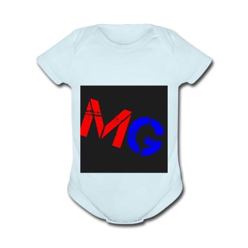Mobile Gamer - Organic Short Sleeve Baby Bodysuit