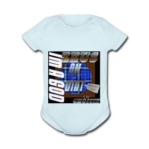 On dirt - Short Sleeve Baby Bodysuit