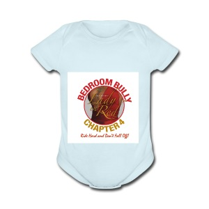 Lady in Red Bedroom Bully - Short Sleeve Baby Bodysuit