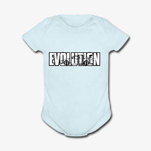 Evolution Lanc! - Short Sleeve Baby Bodysuit