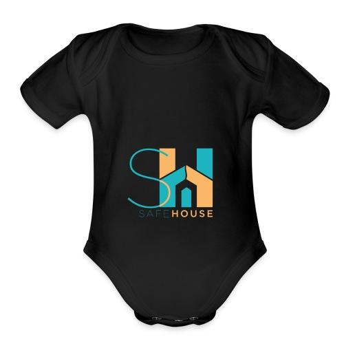 SafeHouse - Organic Short Sleeve Baby Bodysuit