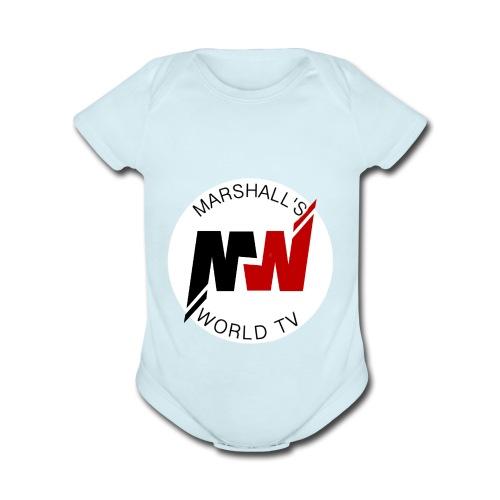 Marshalls World Tv - Organic Short Sleeve Baby Bodysuit