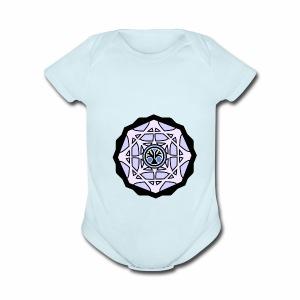 Lunatic tree - Short Sleeve Baby Bodysuit