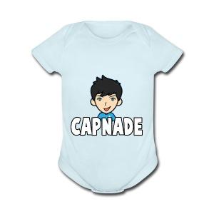 Basic Capnade's Products - Short Sleeve Baby Bodysuit